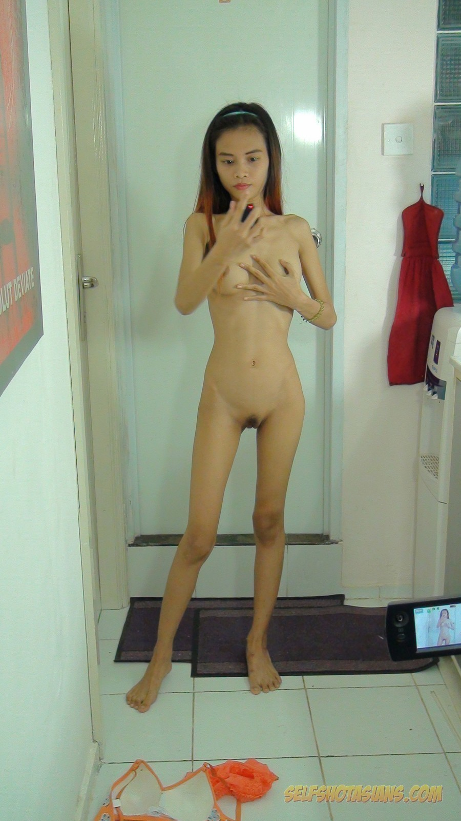 Something nude selfie asian girl with tattoos