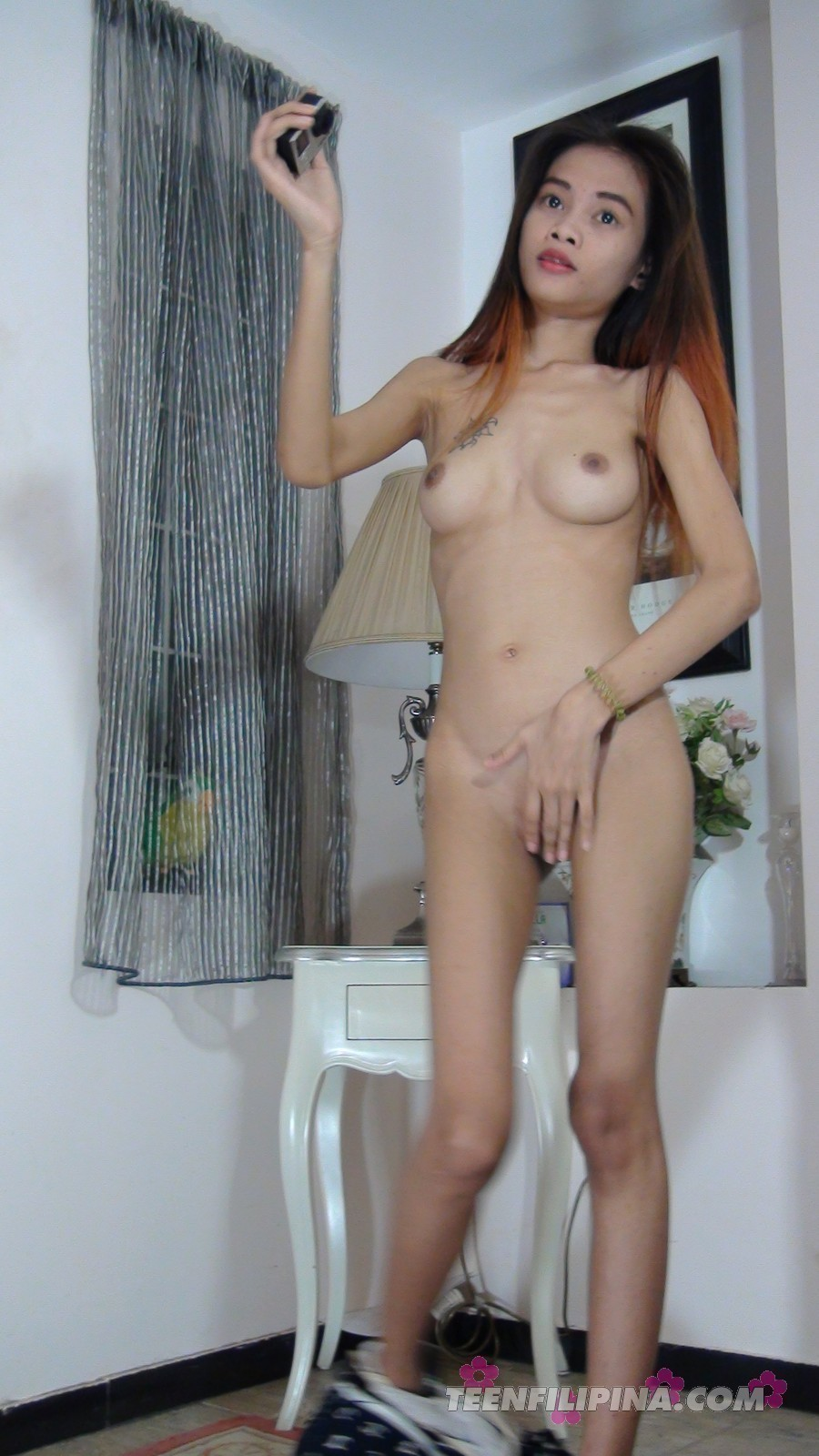 photo Nude amateur skinny asian