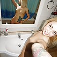 Blonde bad girl Amelia does some selfies - image control.gallery.php