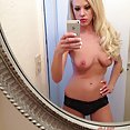 Blonde hottie does some IPhone selfies - image control.gallery.php