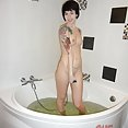 Ebba goes brunette and suck in shower - image control.gallery.php