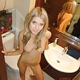 Very sweet blonde girl friend show off nude in the shower - image control.gallery.php