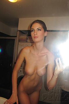 Self shot and naked girls