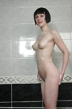 Skinny bathing beauty