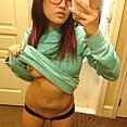 Cute korean girl does some nude mirror selfies - image control.gallery.php